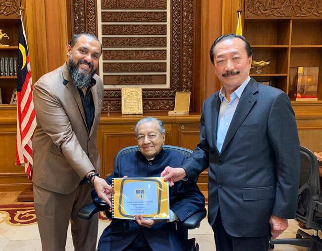 SOLS 247 Meets Tun Mahathir And Dato Sri Vincent Tan