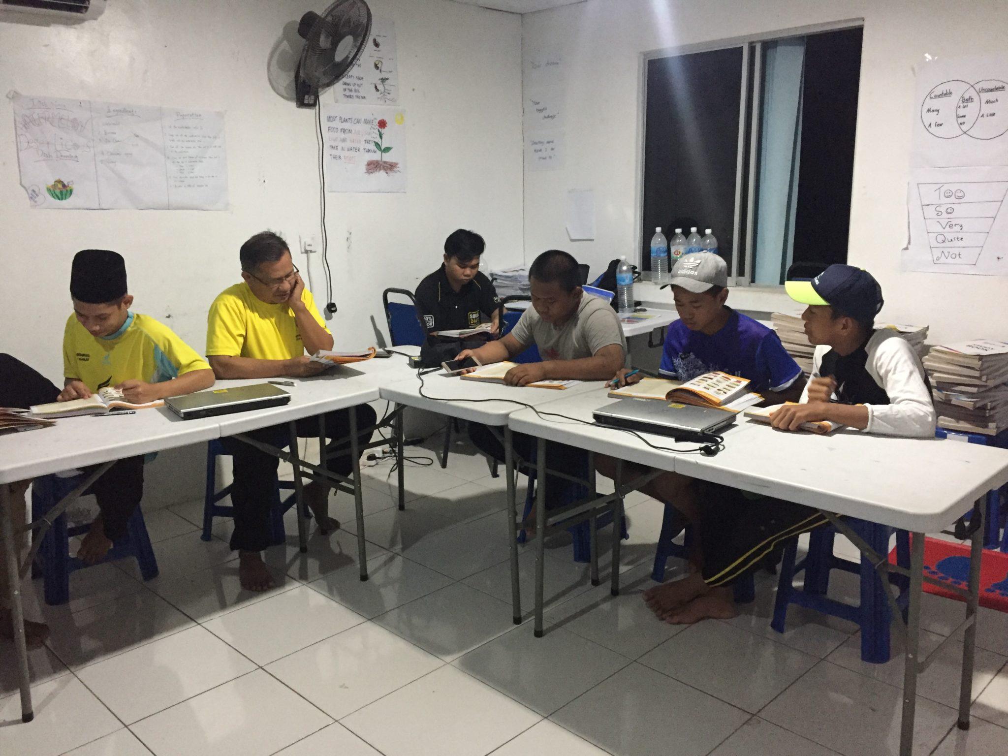 Adults Class in Tawau