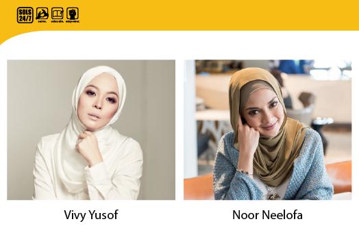 Vivy Yusof, Neelofa, Empowerment & Social Justice Not Taken